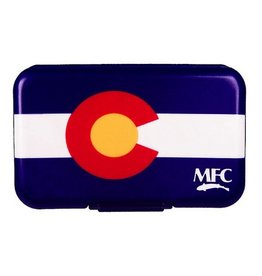 MFC Fly Box Poly State Flag Colorado