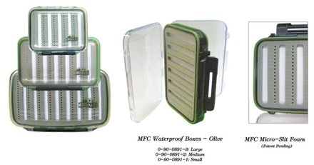 MFC Fly Box Waterproof Olive Small