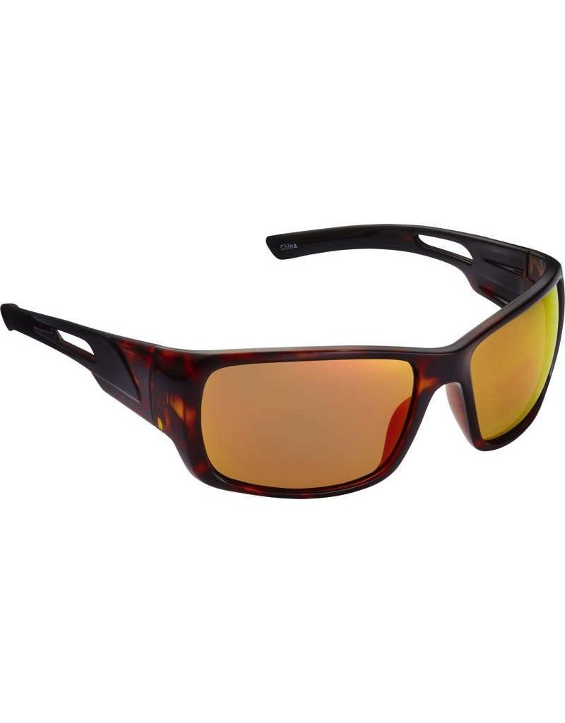 Fisherman Eyewear Hazard Tortise/Red Mirror
