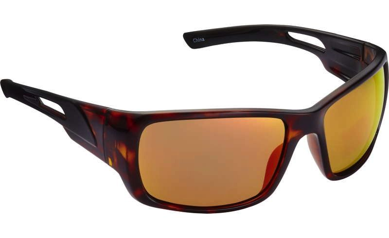 Fisherman Eyewear Hazard Tortise/Red Mirror