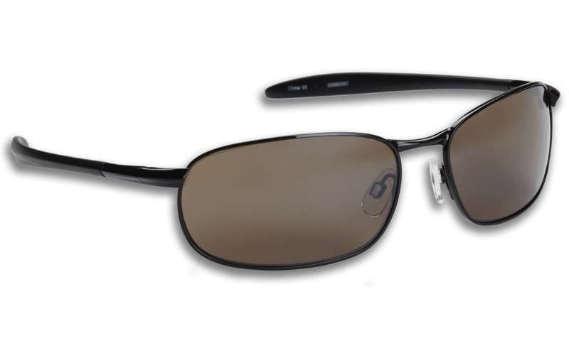Fisherman Eyewear Blacktip Black Metal/Brown