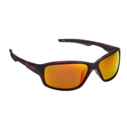 Fisherman Eyewear Dorado Matte Brown Tortoise/Red Mirror