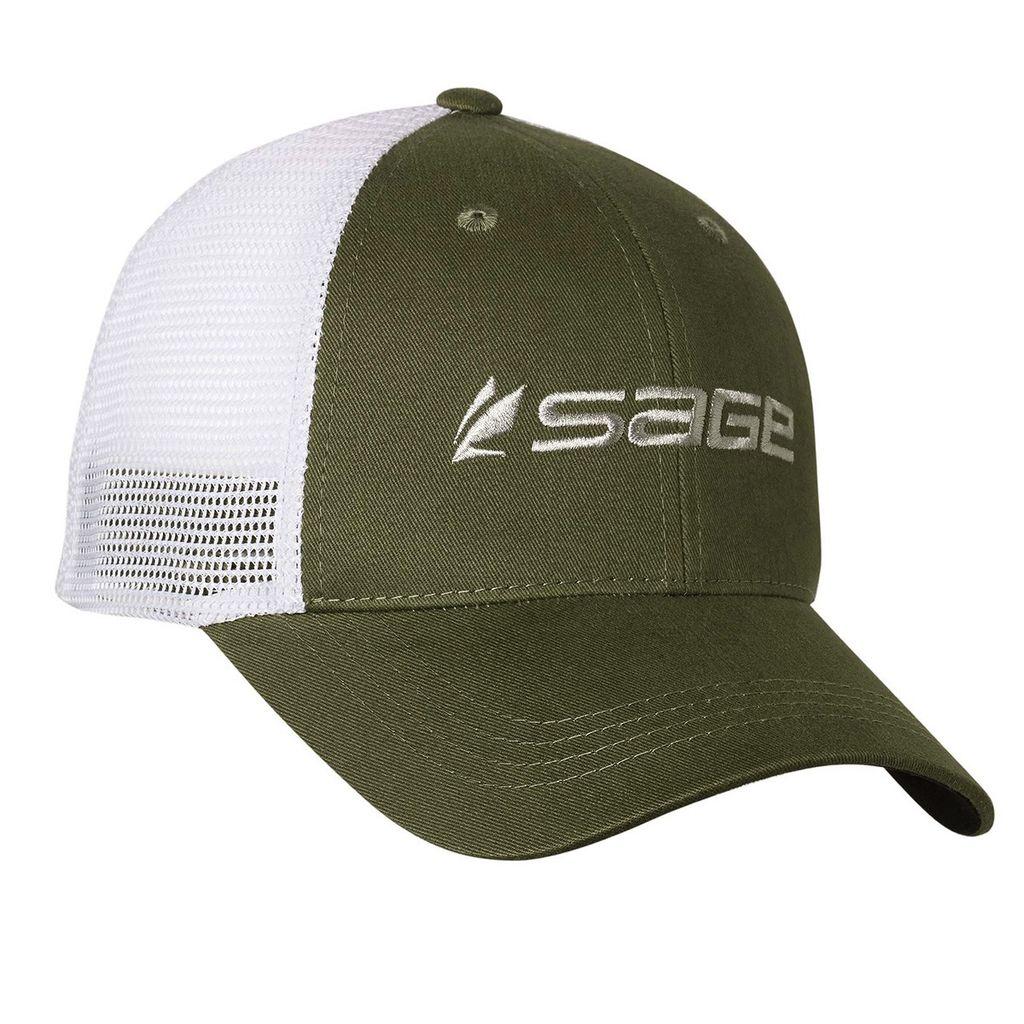 Sage Mesh Back Cap Olive