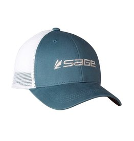 Sage Mesh Back Cap Blue