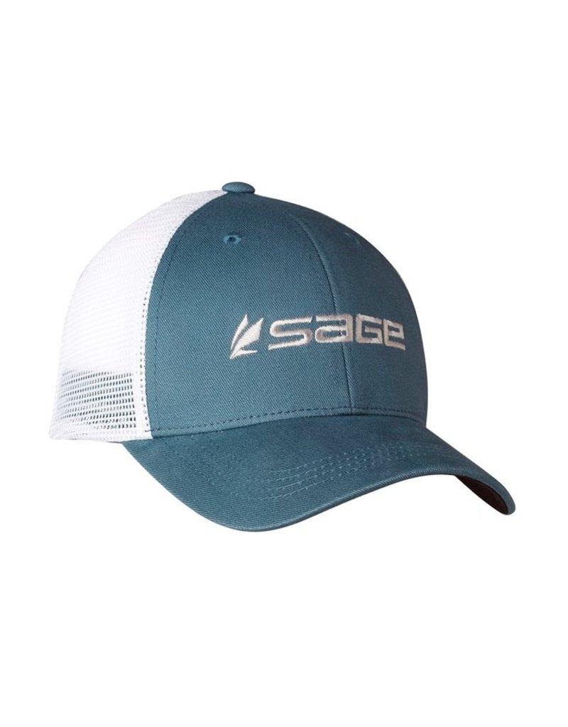 Sage Mesh Back Cap Blue