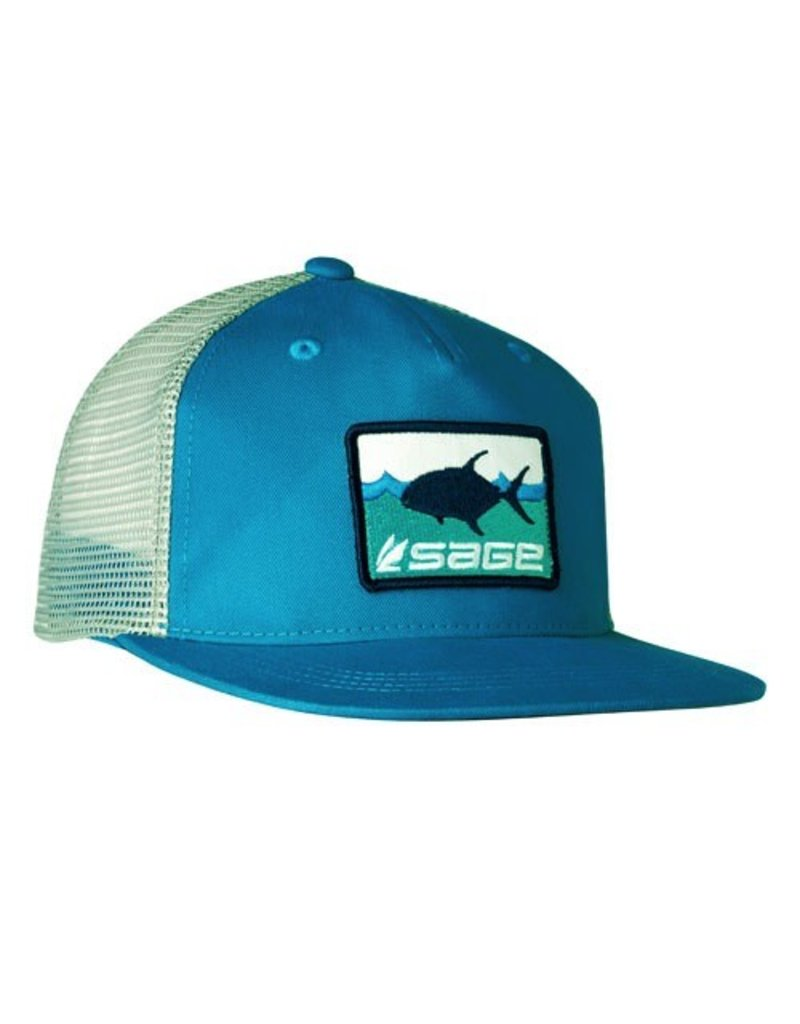 Sage On the Water Trucker Permit Tropic Blue