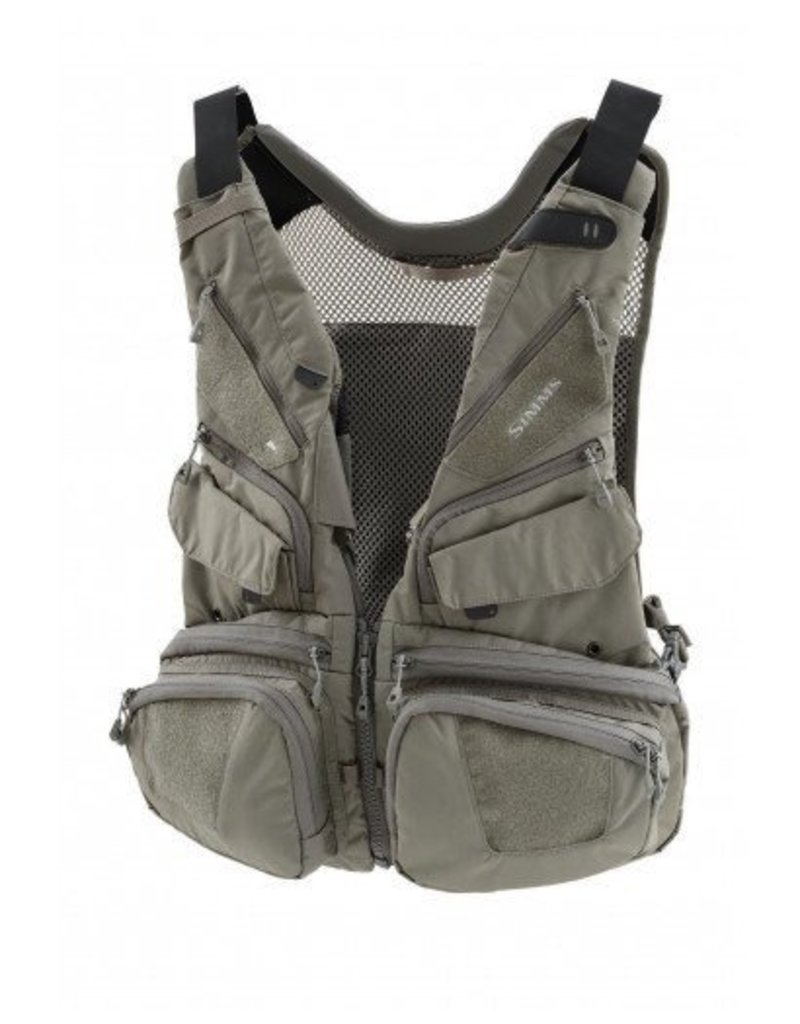 Simms Waypoints Convertible Vest....Greystone