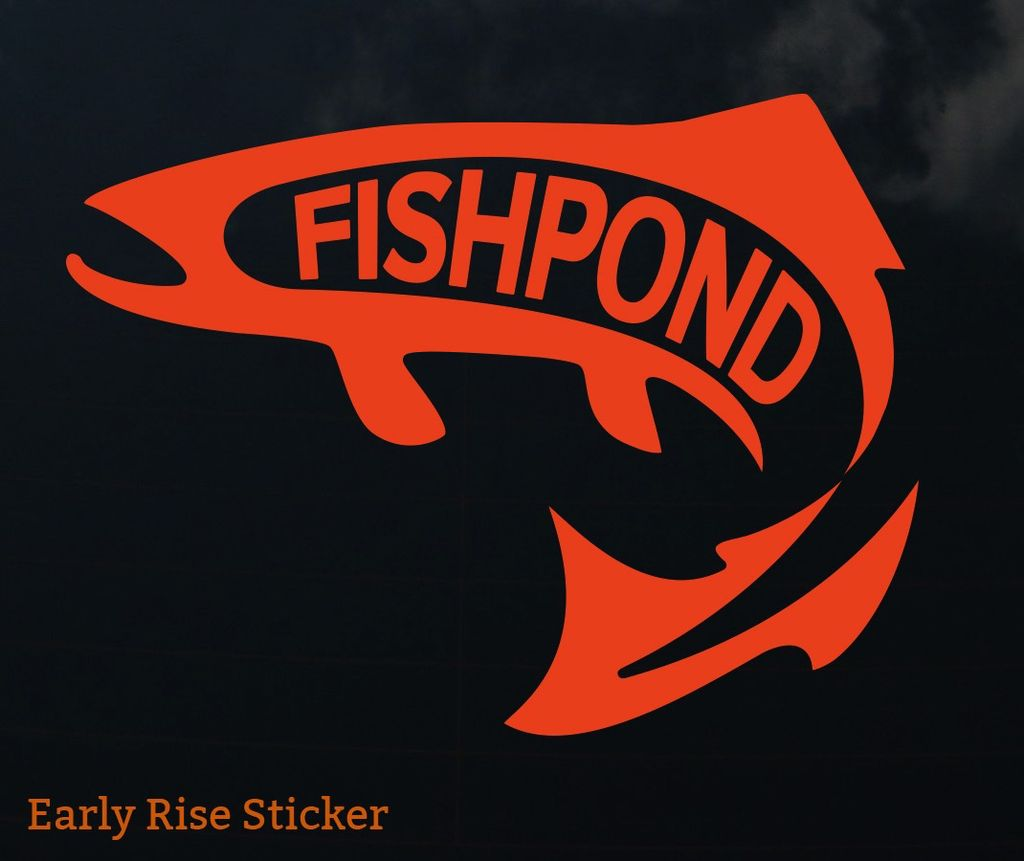 Fishpond Early Rise Sticker