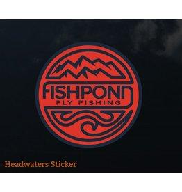 Fishpond Headwaters Sticker