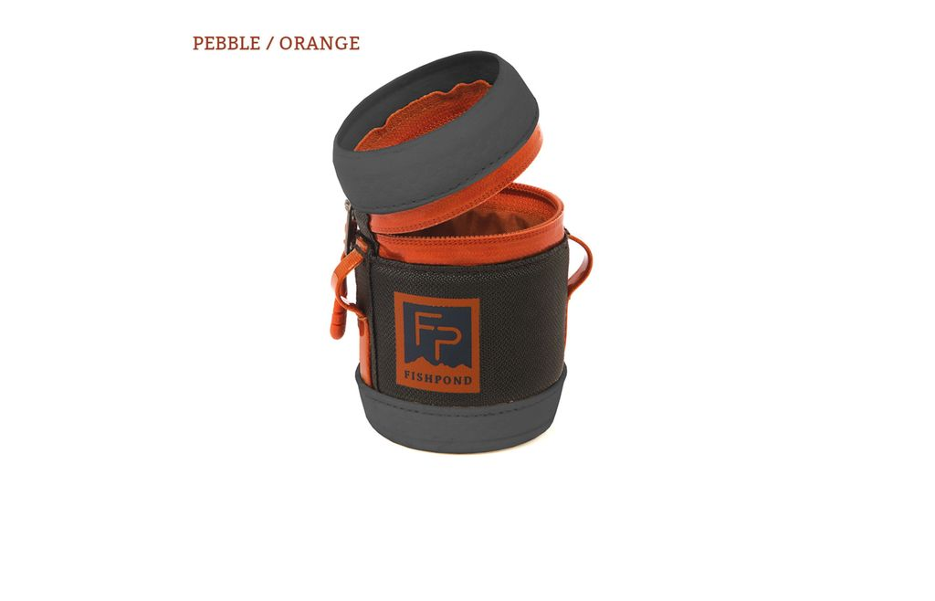 Fishpond River Rat Beverage Holder Pebble Orange