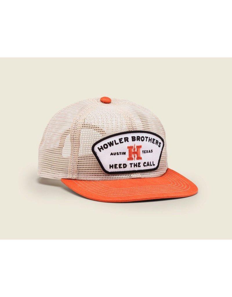Howler Feedstore Snapback Mesh Tangerine
