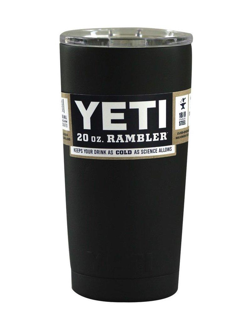Yeti Tumbler 20 oz Black
