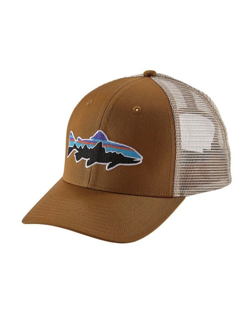Patagonia Fitz Roy Trout Trucker Bear Brown