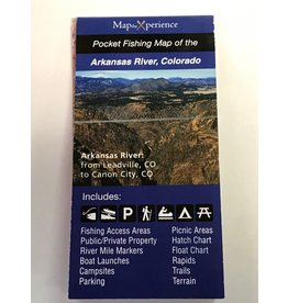 Arkansas River Pocket Fishing Map
