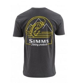Simms Weekend Trout Short Sleeved T Shirt....Anvil