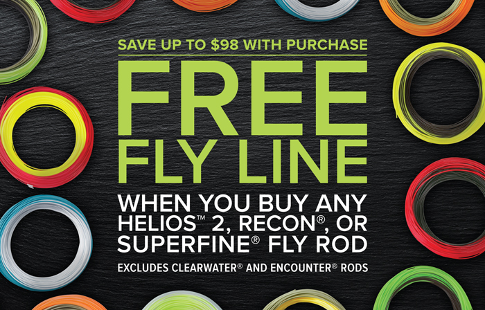 Orvis FREE Fly Line Promotion