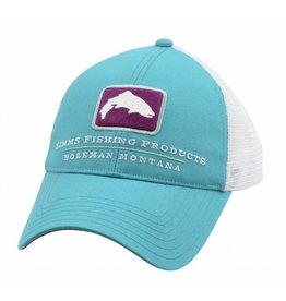 Simms Small Fit Trout Trucker Cabana Blue