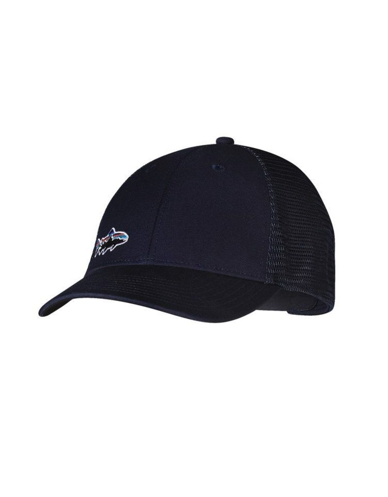 Patagonia Small Fitz Roy Trout LoPro Trucker....Navy Blue