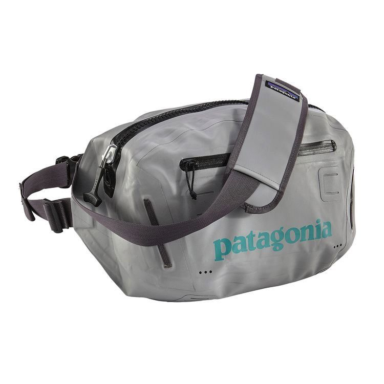 Patagonia Stormfront Hip Pack 10 L Drifter Grey