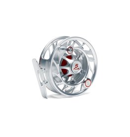 Hatch Finaticc 5 Plus, Clear/Red, Large Arbor 5-7 Wt.