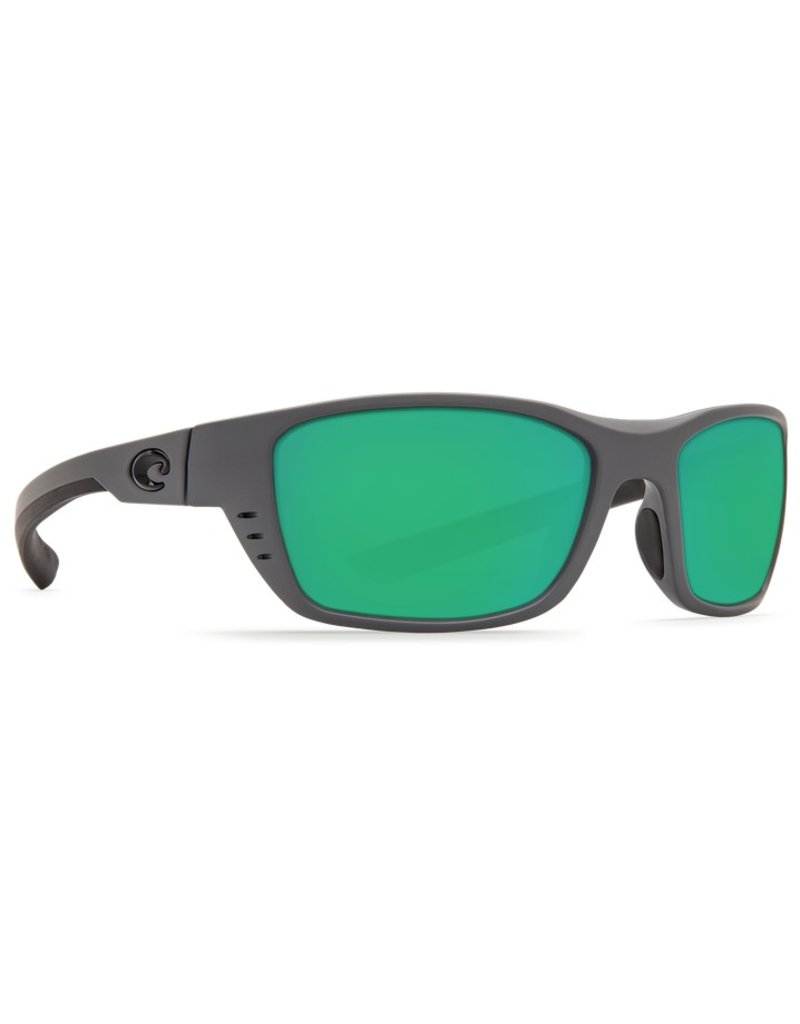 Costa Whitetip Matte Gray Green Mirror 580P