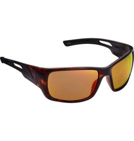 Fisherman Eyewear Hazard Shiny Brown Tortoise/Red Mirror
