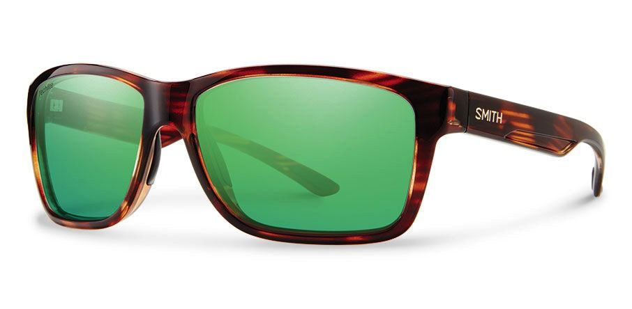 Smith Drake Tortoise Techlite Polarized Green Mirror