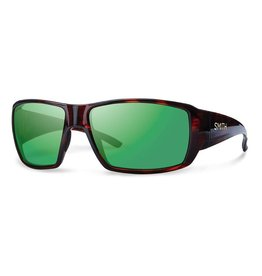 Smith Guide's Choice Techlite Polarized Green Mirror/ Havana