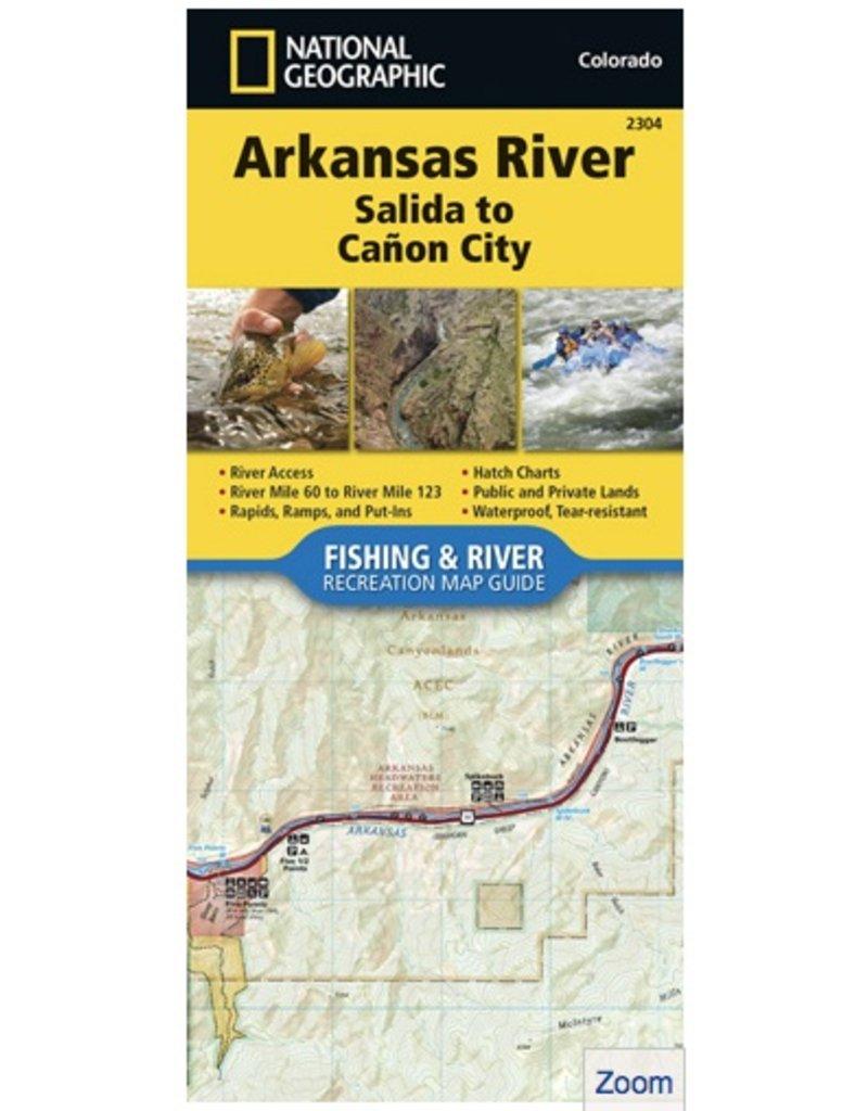 • Waterproof • Tear-Resistant • Fishing & River Map