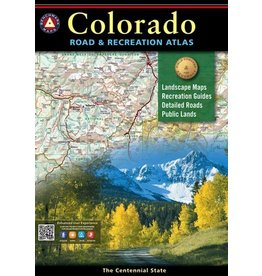 Benchmark Maps Colorado Road and Recreation Atlas