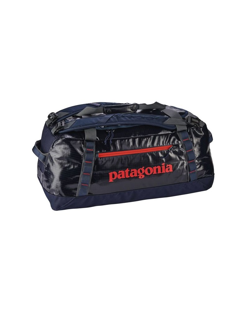 Patagonia Black Hole Duffel 60L Navy/Paintbrush Red