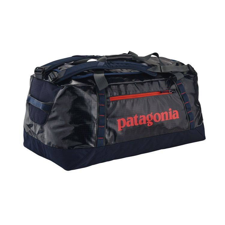 Patagonia Black Hole Duffel 90 L  Navy/Paintbrush Red