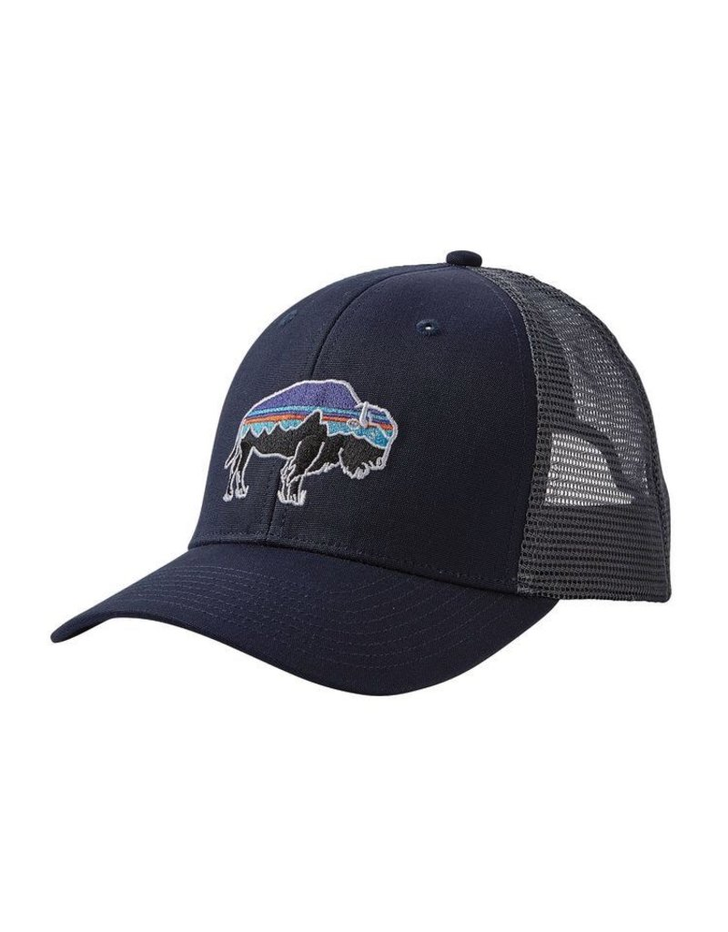 Patagonia Fitz roy Bison Trucker Navy Blue