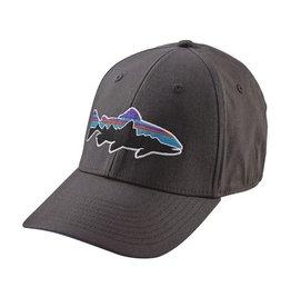 Patagonia Fitz Roy Trpit Stretcj Fit Hat Forge Grey
