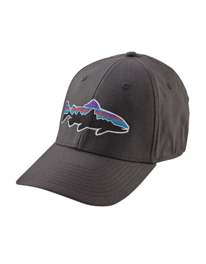 Patagonia Fitz Roy Stretch Fit Hat Forge Grey