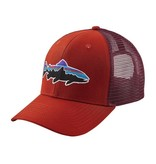 Patagonia Fitz Roy Trout Trucker Hat Roots Red