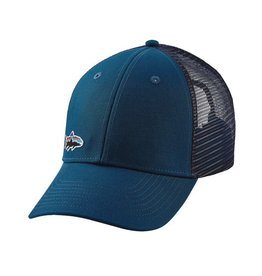 Patagonia Small Fitz Roy Trout Lo Pro Trucker Hat Big Sur Blue