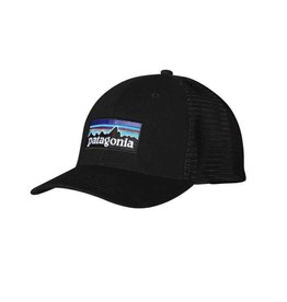 Patagonia P-6 Trucker Hat Black