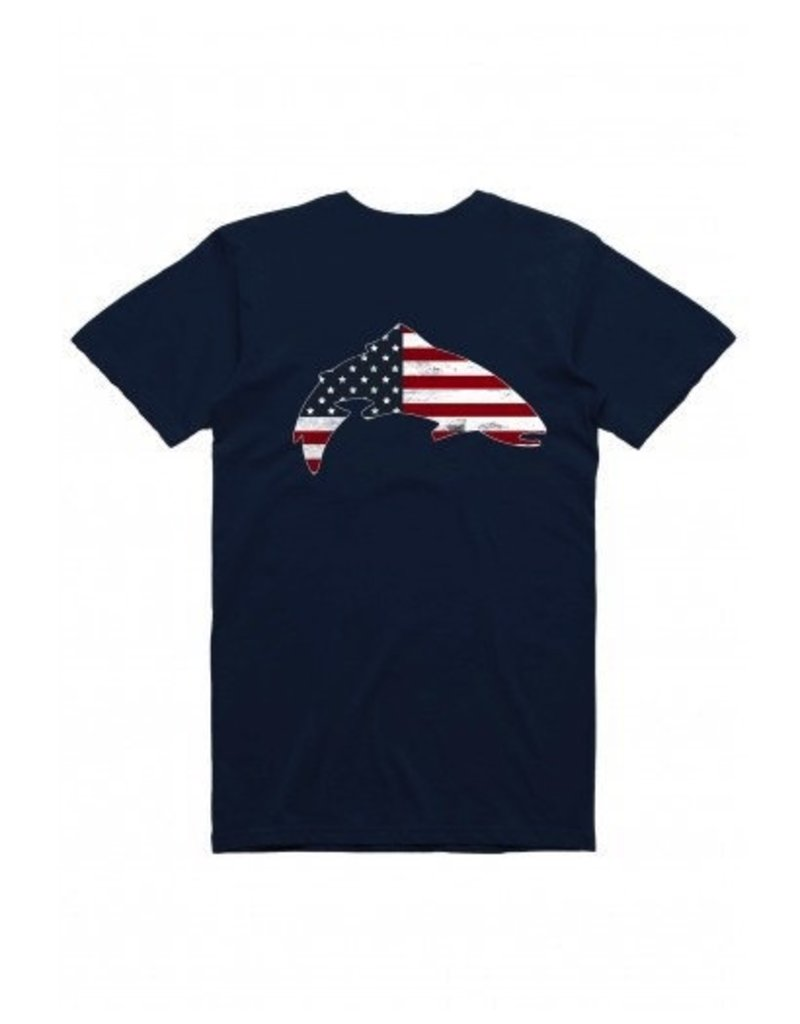 Simms Trout USA Tee