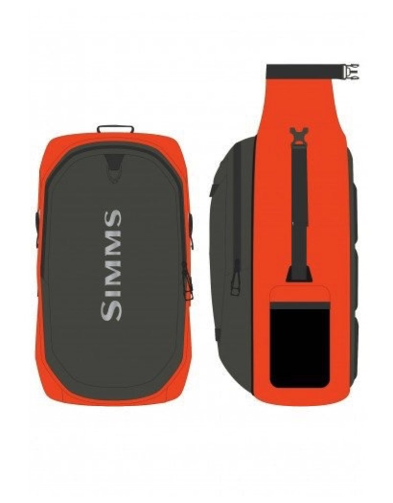 Simms Dry Creek BackPack….Bright Orange