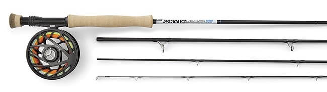 The Helios™ 3D 6-Weight, 9-Foot Fly Rod puts your fly right where you want it, time and again.