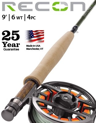 Performance and accuracy define this 6-weight fly rod.