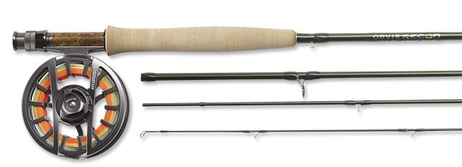 Fast action and easy line loading are the hallmark of this 3-weight fly rod.