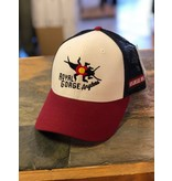 The iconic, one and only Stonebug Logo on a sweet trucker!