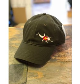 CO Stonebug Structured Twill Hat (Loden)