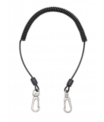 Universal utility leash for clipped-in fishing essentials