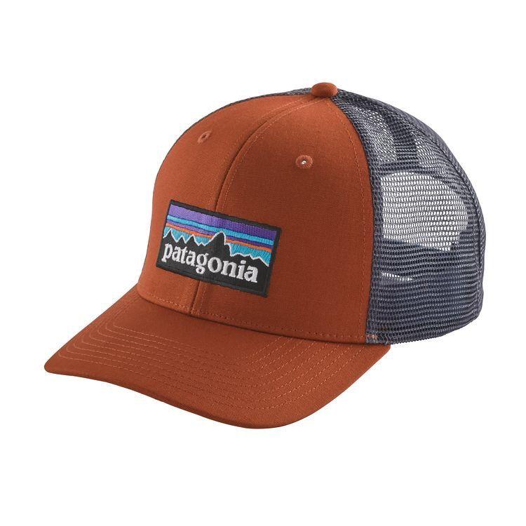 Patagonia P-6 Logo Trucker Hat Copper Ore