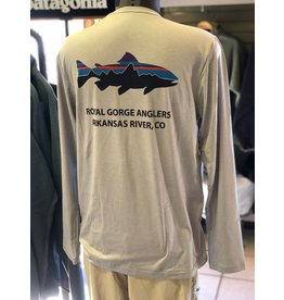Patagonia Graphic Tech LS (Fitz Roy Trout w/ Royal Gorge Anglers)