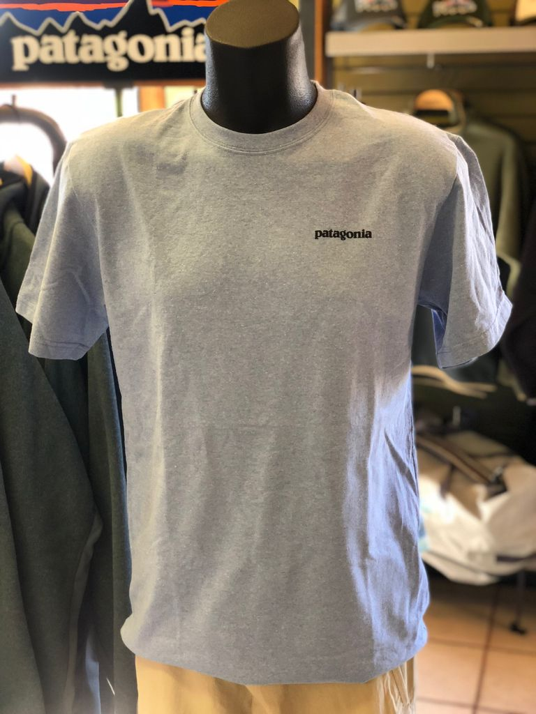 Patagonia M's Fitz Roy Trout Responsibili-Tee logo Royal Gorge Anglers
