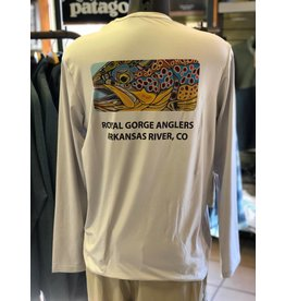 "Patagonia Graphic Tech Fish Tee ""Eye of Brown"""